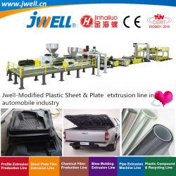 Jwell-Modified пластиковый лист и переработки сельскохозяйственной экструзии бумагоделательной машины используются в автомобильной промышленности с высокой эффективной и хорошие цены