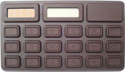 Карманный солнечной Mini 8 цифр электронный калькулятор с шоколадный аромат