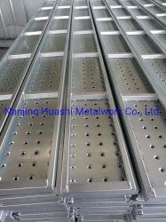 Matériaux de construction bon marché d'échafaudages planche de bord métallique en acier