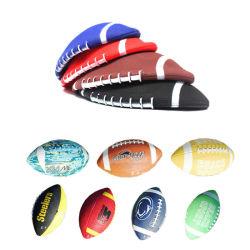 De Promotiemachine Van Het Speelgoed Van Kinderen - De Ballen Van Het Rugby Van De School Van Sew