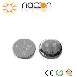 Trockene hauptsächlichbatterien der Lithium-Tasten-Zellen-Cr2032 3V 210mAh