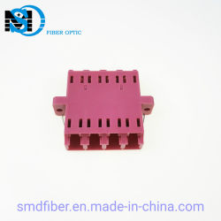 フランジのアダプターLC Om4の光ファイバカプラーレーザー