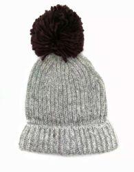 Женский зимний теплый моды трикотажные Ткань из чесаного Red Hat