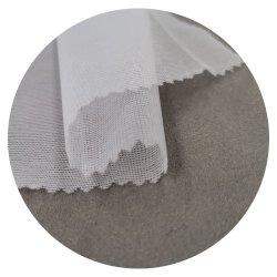 Meilleure vente 2019 Commerce de gros Semi-Dull polyester Tissu Tulle brodé dentelle souple