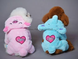 Mono perro cálido invierno abrigos de moda ropa accesorios para mascotas