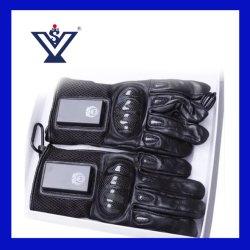 Военных тактических перчатки полиции правоохранительных съемки Anti-Riot Taser перчатки перчатки и изумите вещевым ящиком с низковольтный ток (SYSG-718)