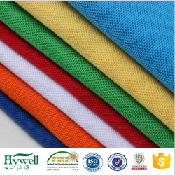 De Katoenen van Polyeester Stof van het Piqué voor het Overhemd van het Polo van Mensen