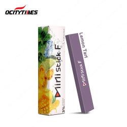 1.2Ml rechargeables Ocitytimes Vape Stylo de gomme à mâcher Forme Ministick F Pod