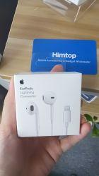 Apple iPhone 7을%s 번개 Earbud 이어폰 음량 조절 Earpods를 가진 7개 흑자