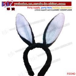 Заяц уши головная стяжка День Рождения подарки Хэллоуин костюмы школьные принадлежности детей новинка прогулочных судов (P4040)