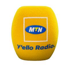 Различные цвета логотипа дизайн полиуретан микрофон губкой с набивкой из пеноматериала