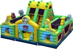 Animal Jungle château gonflable Jouets gonflables diapositive pour l'Amusement Park