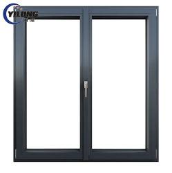 Schuifdeuren van het Glas UPVC van het onderhoud de Vrije Schokbestendige