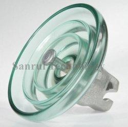 Tipo padrão Suspensão Temperado Isolador de vidro