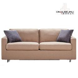 El ahorro de espacio de pared plegable de metal con un sofá cama para Salón