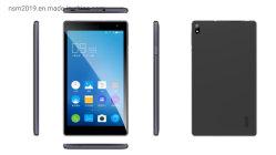 Большой экран 1024X600IPS сенсорный экран с двумя SIM-Quad Core Android смартфонов