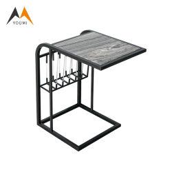 Preiswerte kundenspezifische Edelstahl-Seiten-Tische für das Wohnzimmer modern