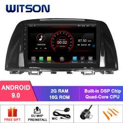 Witson Double DIN DE NAVEGAÇÃO DVD automóvel Mazda 6 2014-2016