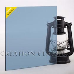 포드 세륨 & ISO9001로 건축을%s 파란 색을 칠한 플로트 유리