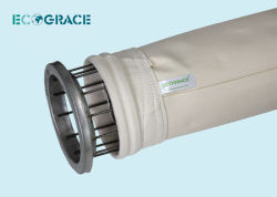 Высокотемпературные цедильные мешки сборника пыли стеклоткани PTFE Non сплетенные