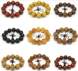 Madera de alta calidad OEM Pulsera de perlas de China