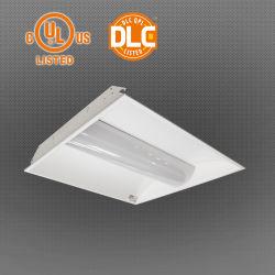 2x2 voet 140lm/W IP40 LED-kortstroffer met UL- en Dlc-certificering