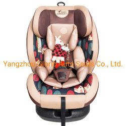 ECE R44は1つの安全製品の幼児の子供の子供の赤ん坊のカー・シートに付き360ヘッドサポート変換可能な携帯用保護装置3つを証明した