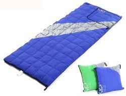 La conception de canard blanc vers le bas oreiller adulte Sac de couchage de Camping