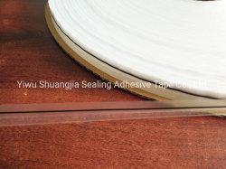 Saco de polietileno Lacre 15/4.5/7mm, Fita Self-Adhesive saco resselável, fita de face dupla, Cola OPP Bag tira, Fita de vedação reutilizável, Sunjia, descasque & Seal