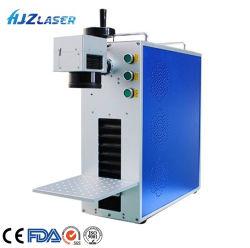 금속 보석을%s 휴대용 섬유 Laser 표하기 장비
