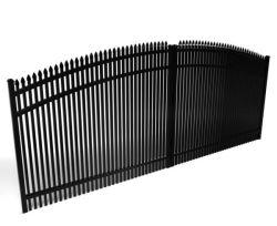 공장을%s 팔기에 적합한 장식적인 좋은 품질 전기 문 또는 미끄러지는 문 또는 자동 철 문