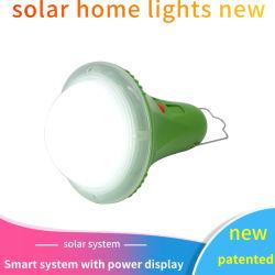 Портативный 435lm на солнечной энергии аккумуляторов индикатор светодиодная лампа для использования вне помещений солнечной энергии лампы освещения для походов промысел кемпинг палатка чрезвычайной