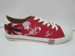 Национальный цветок моды Sytle печать обувь