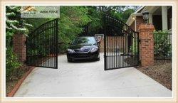 Commerce de gros de l'acier enduit de poudre& de fer et de la porte d'aluminium, Single-porte à double ouverture pour le swing, allée, coulissant et le type de Gate automatique