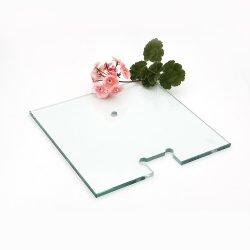 Kundenspezifisches ausgeglichenes Hartglas für Dusche-Tür, Ofen, befördernd mit der Eisenbahn