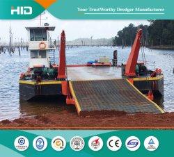 100 - 300t auto voile Barge de logistique pour le transport des équipements lourds/d/d'excavatrice de cargaisons