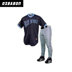 Soem passen Mann-und Frauen-Formlongline-Baseball Jersey an