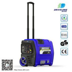 Generatore inverter digitale portatile 2kW con GS/Ce/EPA/Carrb/EU V.