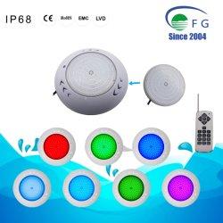 18W RGB an der Wand befestigtes LED Unterwasserswimmingpool-entferntlicht
