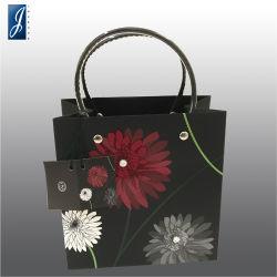 Produtos cosméticos feitos à mão de alta qualidade Coated Dom Sacola de Compras para embalagem e promoção