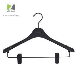Установите Противоскользящие Черного Пластика Вверху / Внизу Вешалки для Одежды