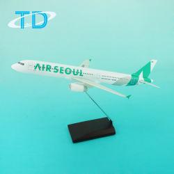 A321 1/150 31cm 플라스틱 무거운 바디 모형 비행기