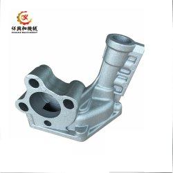 Metal branco personalizadas de fundição de alumínio com parte de usinagem de precisão CNC