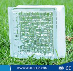 Decorativa con certificación de mosaicos de colores de ladrillo de vidrio templado /la construcción de calidad