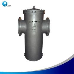 스테인리스강 플랜지형 산업 여과 증기 바스켓 스트레이너 팩토리 및 SW 벤트 드레인