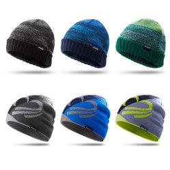 Beanie tejidos bordados personalizados de la moda invierno sombreros mujer tapa caliente fábrica de sombreros
