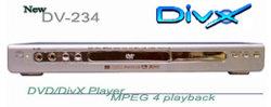DVD DivX MPEG4 선수 DV234