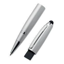 スタイラスねじれの球ペンおよびUSBのフラッシュはカスタマイズされたロゴのペンの中で駆動機構統合される