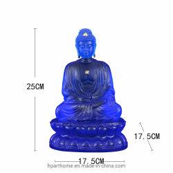 تمثال بوذا من سكاياموني Sakyamuni ذو اللون الأزرق الداكن المتطور الذي يتمتع بفن الحرفيون
