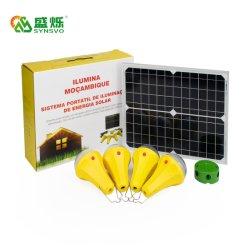 가정용 태양계, 전기 없음, 태양빛 캠핑 레딩 텐트 라이트 25W/11V 태양전지 패널, 프로젝트 태양빛
